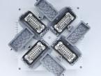 Speciální blikač se čtyřmi konektory 16pin